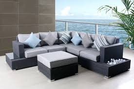Patio Chair And Ottoman Set Patio Ideas Cool Sectional Sofa And Ottoman By Costco Patio