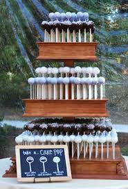 cake pop wedding cake1 black tie formalwear