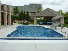 completed inground swimming pools custom inground swimming pool
