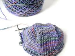 Knitting Pattern For Socks Using Circular Needles | my favorite tool a 9 circular knitting needle shiny happy world