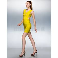 cheap bandage bodycon dress uk online get white black red