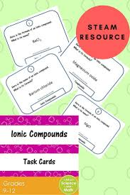 the 25 best ionic compound ideas on pinterest chemistry