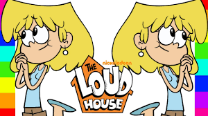 coloring lori loud the loud house nickelodeon coloring pages for