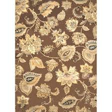 tiara collection home decorators collection tiara brown 7 ft 8 in x 10 ft 2 in