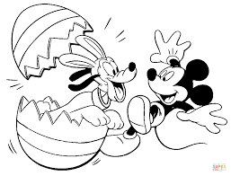 pluto mickey coloring free printable coloring pages
