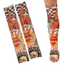 2pcs temporary arm stockings fake tattoo sleeves t9 tmart