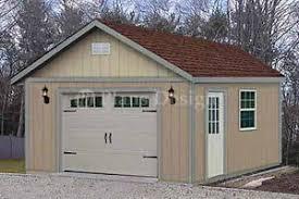 24 x 24 garage plans 16 ft x 24 ft garden storage shed structure car garage plans