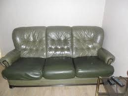 canapé cuir d occasion canapés en cuir occasion annonces achat et vente de canapés en