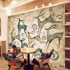 online get cheap diy wall mural aliexpress com alibaba group nature animal deer diy 3d wallpaper wall mural rolls child kids bedroom cartoon cute art