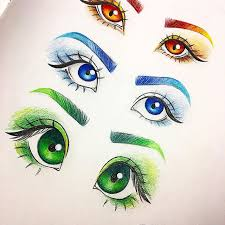 3 different types of eyes which one is your favorite