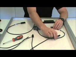solar panel wire to charge controller basic set up youtube