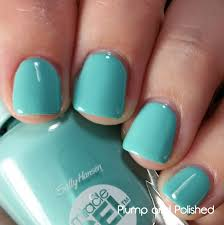 plump and polished sally hansen miracle gel polish