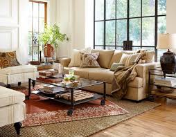 pottery barn living room for a traditional with and by barn