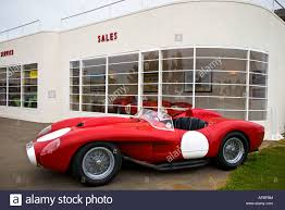 250 testa rossa of the 1950s outside the art deco style of the