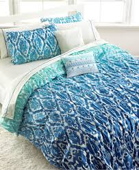 Kid Bedspreads And Comforters Seventeen Ombre Ikat Full Queen Comforter Set Bed In A Bag Bed
