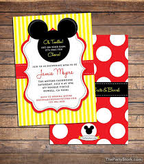 mickey mouse baby shower invitations mickey mouse baby shower invitation printable baby boy or