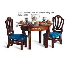 american doll table and chairs american doll dining table dining room ideas