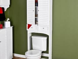 Bathroom Over Toilet Storage Bathroom Over The Toilet Cabinets Lowes Www Islandbjj Us