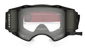 motocross goggles uk oakley airbrake mx roll off goggle factory b1b red black clear lens