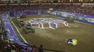 monster truck race track monster jam takes over save mart center abc30 com