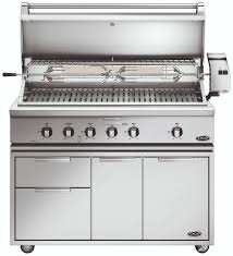 dcs grills 48 inch traditional grill with rotisserie griddle and