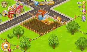 download game farm village mod apk revdl megapolis city village to town for android free download at apk