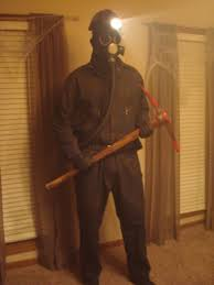 Gas Mask Halloween Costume Bloody Valentine Costume 6