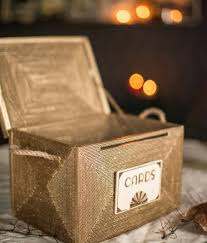 wedding card box rustic card box wedding card holder card box with