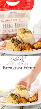 leftovers breakfast wrap recipe thanksgiving leftovers