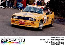 bmw e30 colours camel yellow for bmw m3 e30 el corte ingles rally principe de