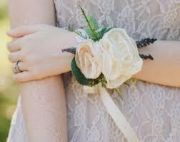 Corsage Wristlets Wedding Corsage Pink Peony Wristlet Corsage