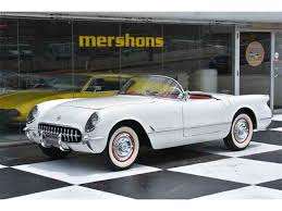 1953 corvette stingray 1953 chevrolet corvette for sale on classiccars com 5 available