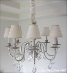 Painting Brass Chandelier Best 25 Painted Chandelier Ideas On Pinterest Brass Chandelier