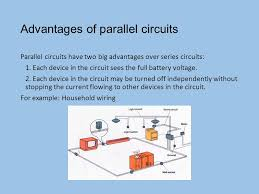types of simple circuits series circuit all in a row 1 path for