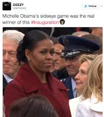 Michelle Meme - michelle and hillary side eyeing michelle obama know your meme