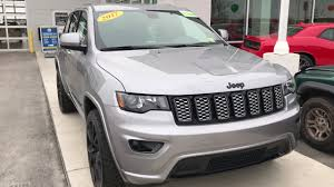 jeep grand cherokee 2017 grey 2017 jeep grand cherokee laredo altitude stock 386878 youtube