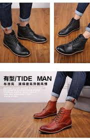 39 45 vintage men winter boots warm winter shoes men boots brogues