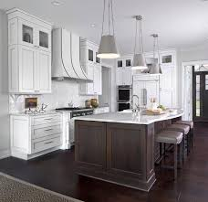 Kitchen Islands And Stools Brown Kitchen Island With Gray Sandstone Countertops And White