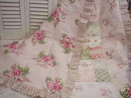 chic shabby bethany pastel floral cotton quilt detail chic shabby