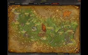 Wow Kalimdor Map Wow Screenshots Dungeon Entrance Classic