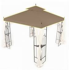 Patio Gazebo Replacement Covers by Interior Design Patios Garden Winds Gazebo Sunhouse Gazebo
