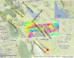 Google Maps Las Vegas by News California Faults Moved Quietly After Baja Quake
