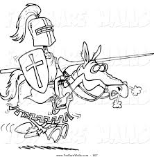 jousting knights coloring pages corpedo com