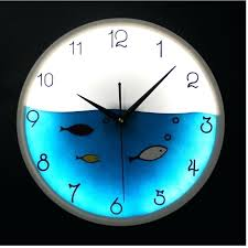 Glow In The Dark Home Decor Wall Clock Glowing Digital Wall Clock Night Glowing Radium Wall