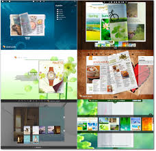 new online flip book templates with fresh layout good for personal