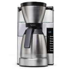 Coffee Maker With Grinder And Thermal Carafe Shop Capresso Espresso Machines Coffee Makers Cappuccino