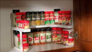 Stackable Kitchen Cabinet Organizer Spice Cabinet Organizer As Seen On Tv Roselawnlutheran