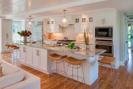 galley kitchens with islands dreamy kitchen with white cabinets large kitchen island