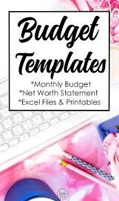 P L Spreadsheet Template Best 25 Excel Budget Template Ideas On Pinterest Budget