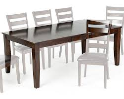 mango wood dining table intercon solid mango wood dining table kona inka4278btab